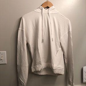 🌾2 for $125🌾Lululemon crop open back hoodie